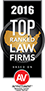 2016 US Top Ranked Law Firms